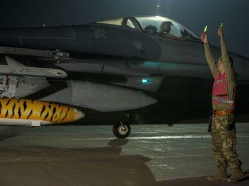 F-16s arrive at Bagram