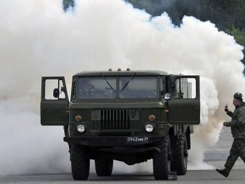 Aerosol Smokescreen Generator