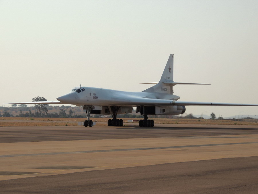 Tu-160 in South Africa
