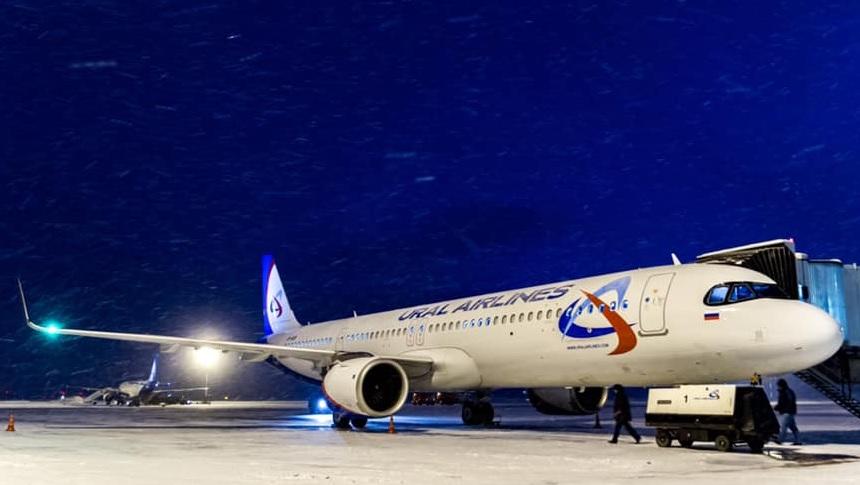 Lengkapi Dua A320neo, Ural Airlines Terima A321neo Pertamanya