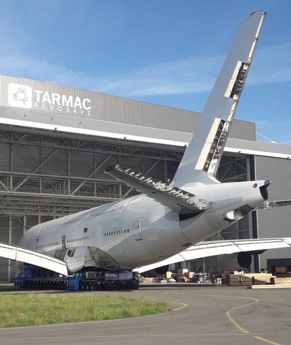 Pesawat Pertama A380 Telah Dibongkar, Butuh 11 Bulan Melakukannya