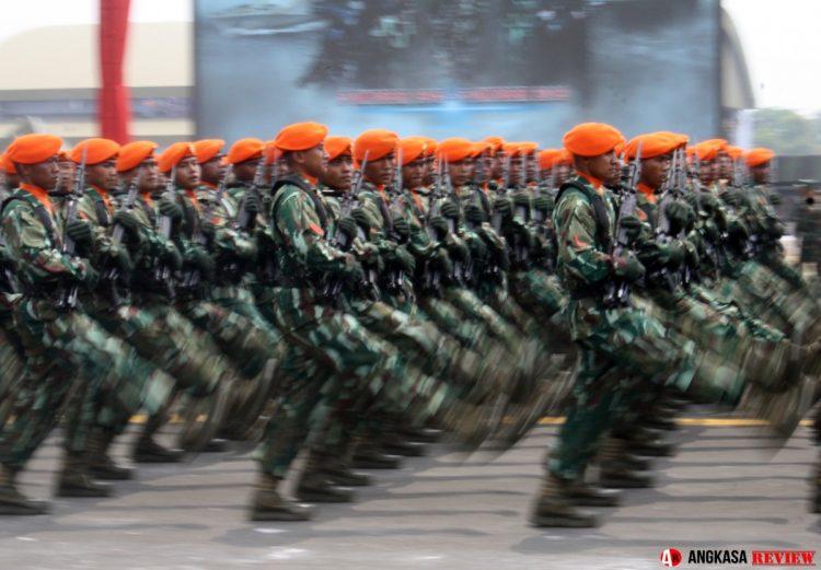 44 prajurit Paskhas perkuat Pertahanan Pangkalan Lanud ABD