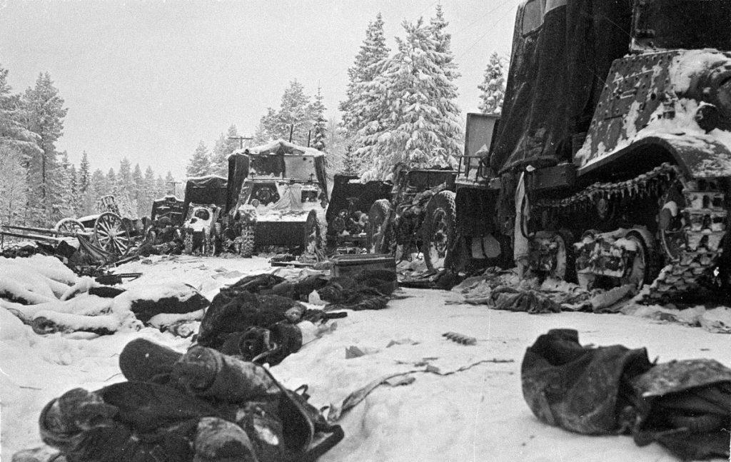 Pasukan Soviet gugur di Winter War