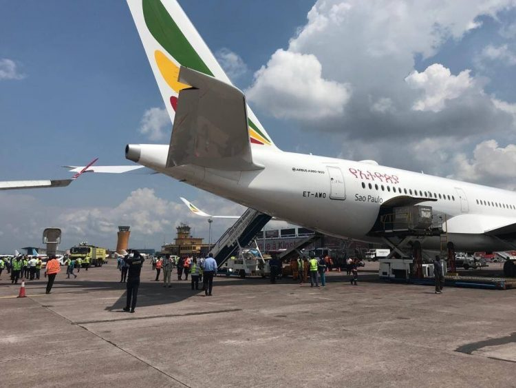 Senggolan A330 Turkish dan A350 Ethiopian