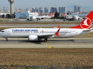 737 MAX 8 Turkish Airlines