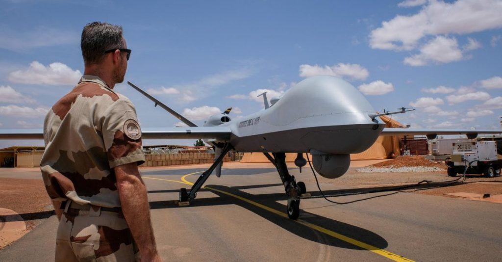 MQ-9 AU Perancis di Niamey