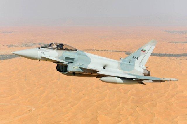 Typhoon untuk Kuwait