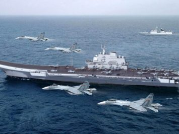 J-15 and Liaoning