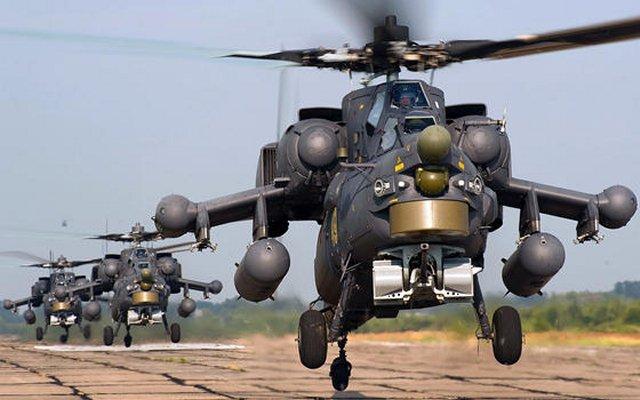 Perusahaan elektronik Rusia meng-upgrade Mi-24 jadi setara Mi-28NM