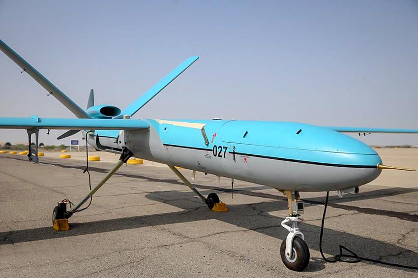 Angkatan Laut Iran Resmi Gunakan Drone Simorgh Buatan Lokal