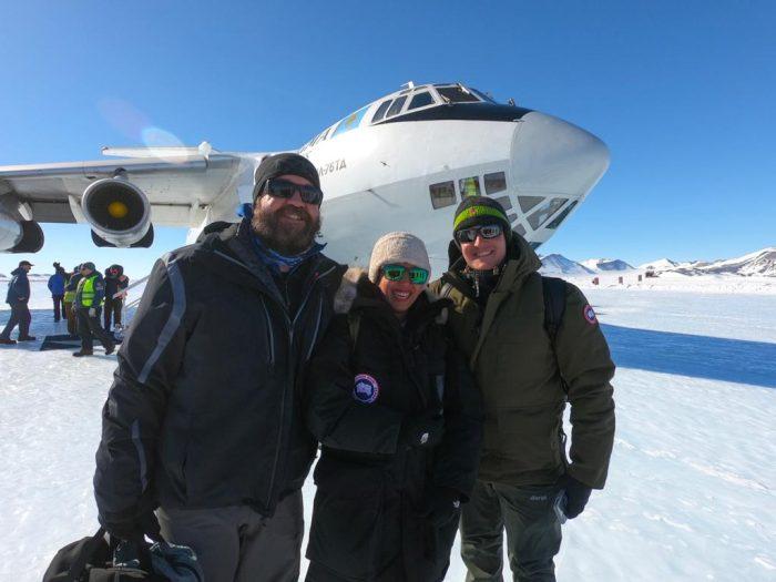 Penerbangan ke Kutub Selatan