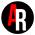 logo AR hitam
