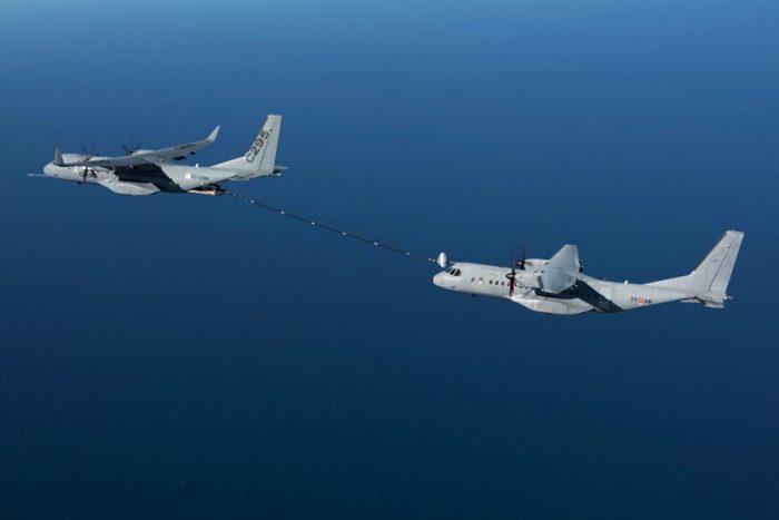 Airbus dan AU Spanyol sukses uji kontak basah tanker C295W