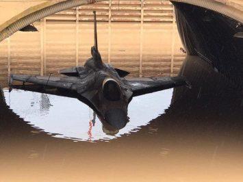 F-16 Israel kebanjiran