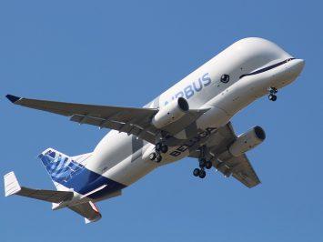 First Flight of BelugaXL
