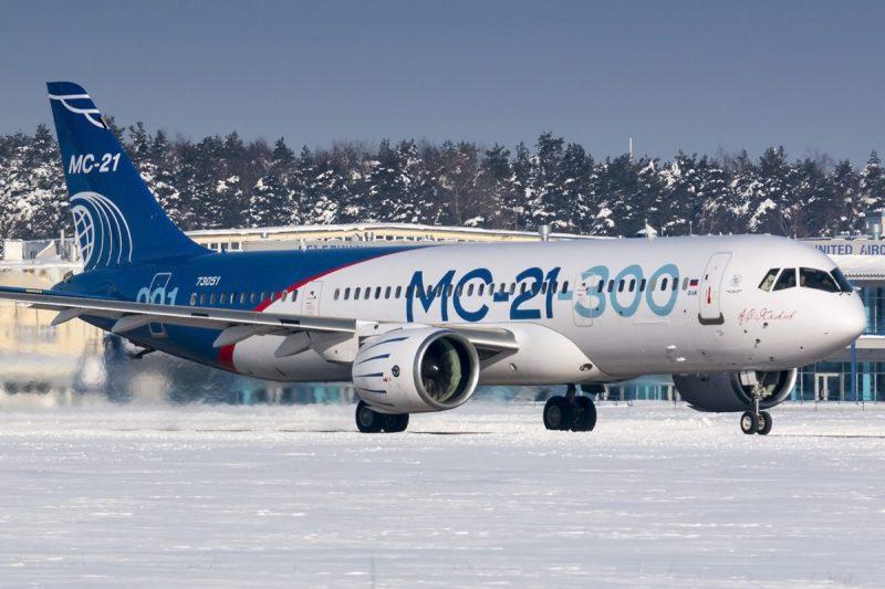 Tahun 2023 Rusia akan ganti avionik pesawat MC-21 dengan produksi dalam negeri