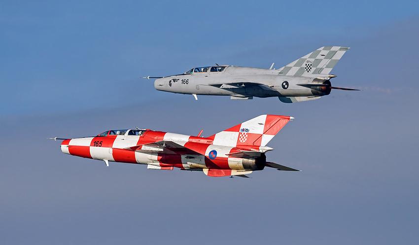 MiG-21 kroasia