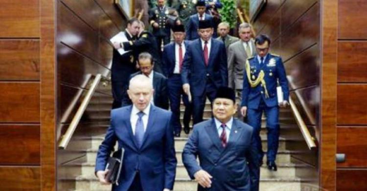 Prabowo kunjungi Rusia