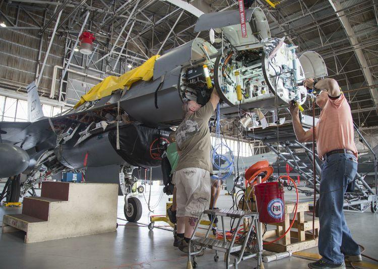 SABR instalation at Edwards AFB