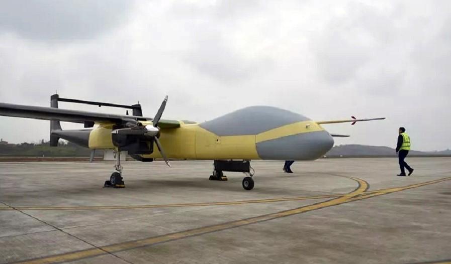 China sukses kembangkan drone MALE bermesin tiga
