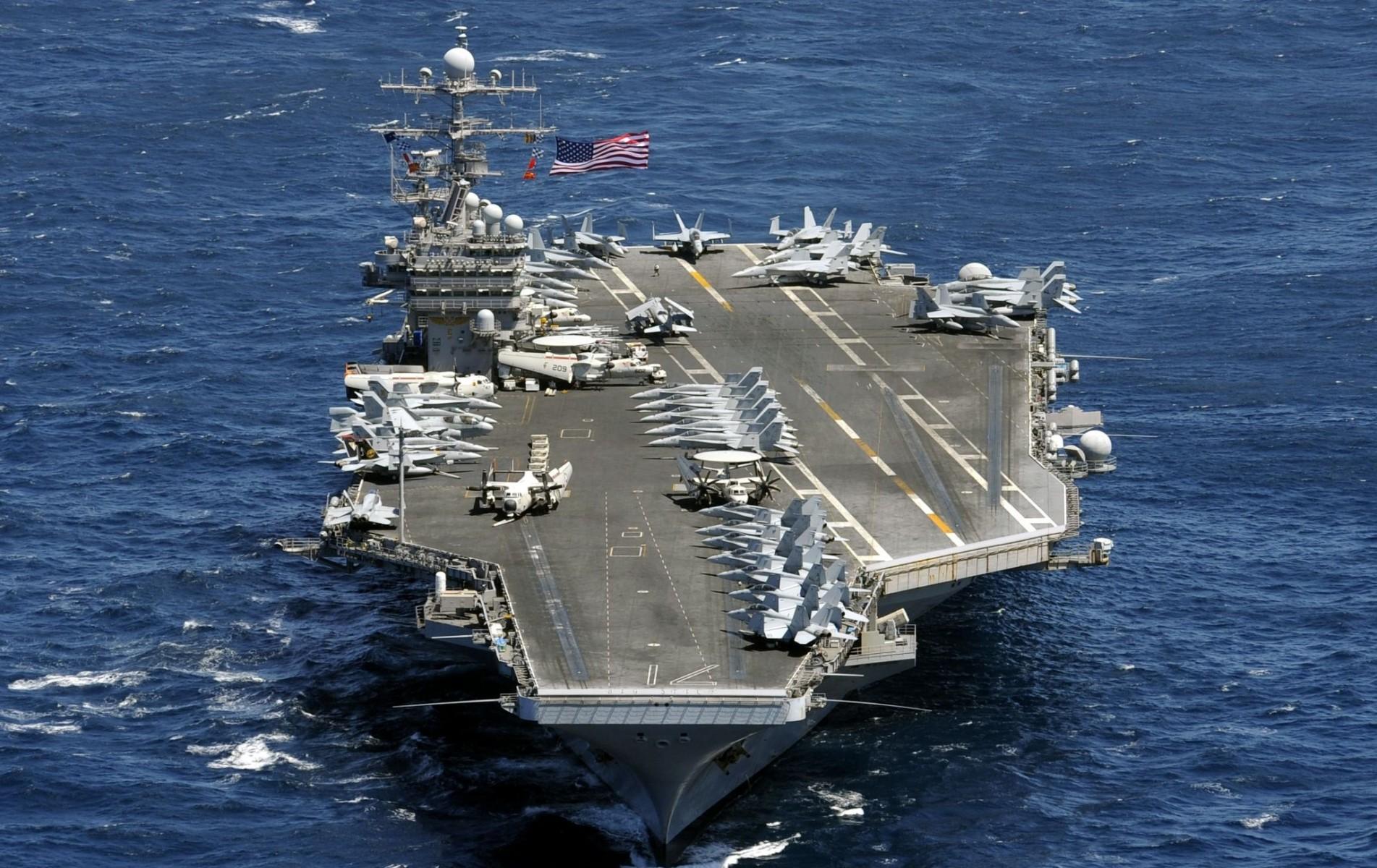 Jaga keamanan maritim, kapal induk USS Theodore Roosevelt bergerak ke Indo Pasifik
