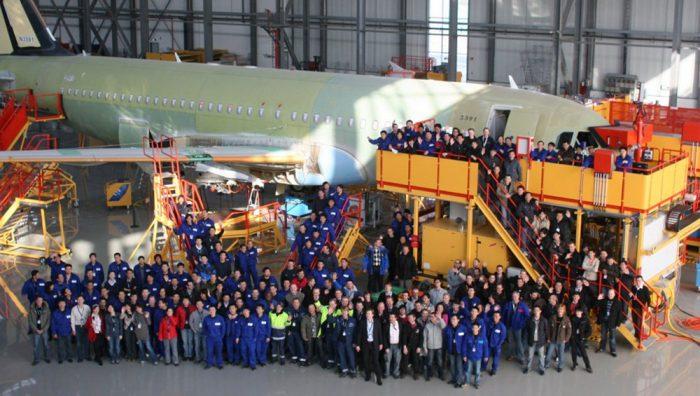 Virus corona novel mewabah, Airbus tutup pabrik pesawat di China