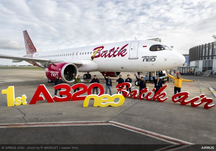 Batik Air sambut pesawat A320neo pesanan pertama