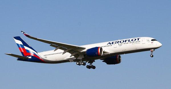 A350 pertama pesanan Aeroflot mengudara perdana