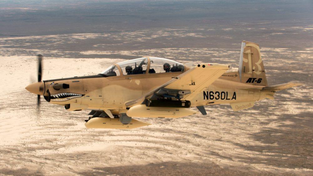 AS setujui penjualan empat AT-6C Wolverine kepada Tunisia