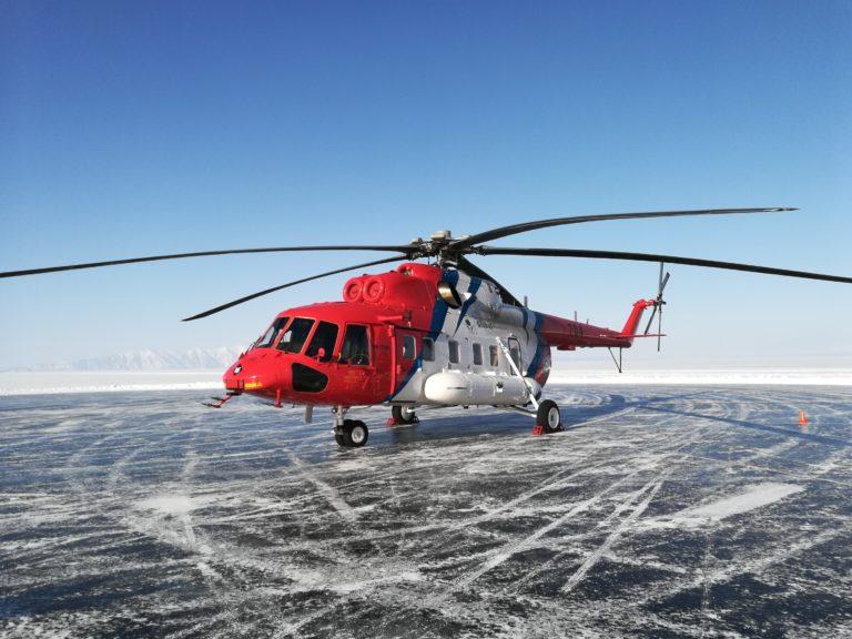 Mi-171A2 bukukan rekor terbang tercepat di festival Baikal Mile