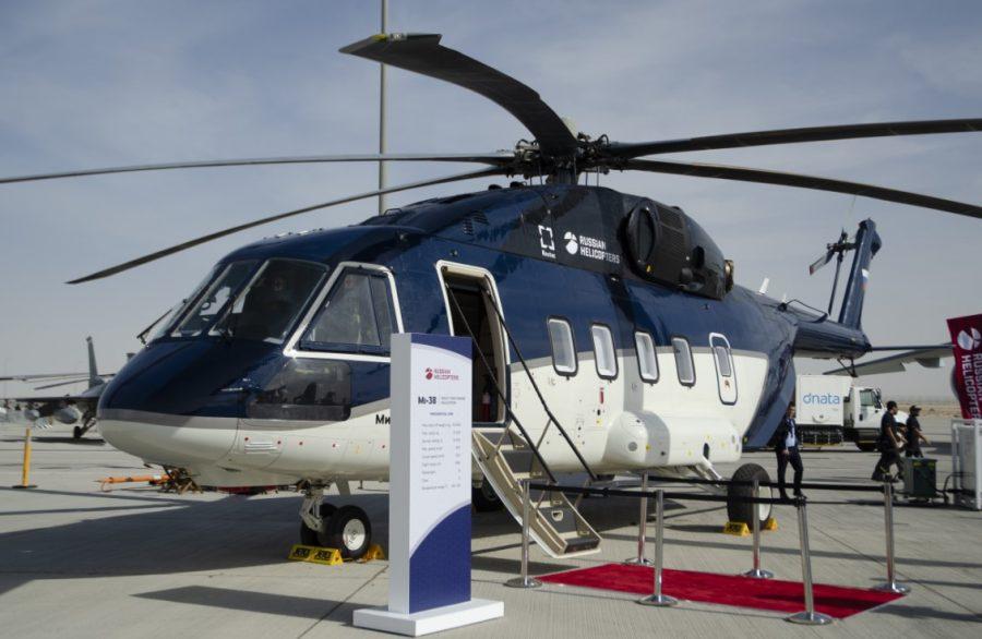 Mi-38 seri produksi pertama