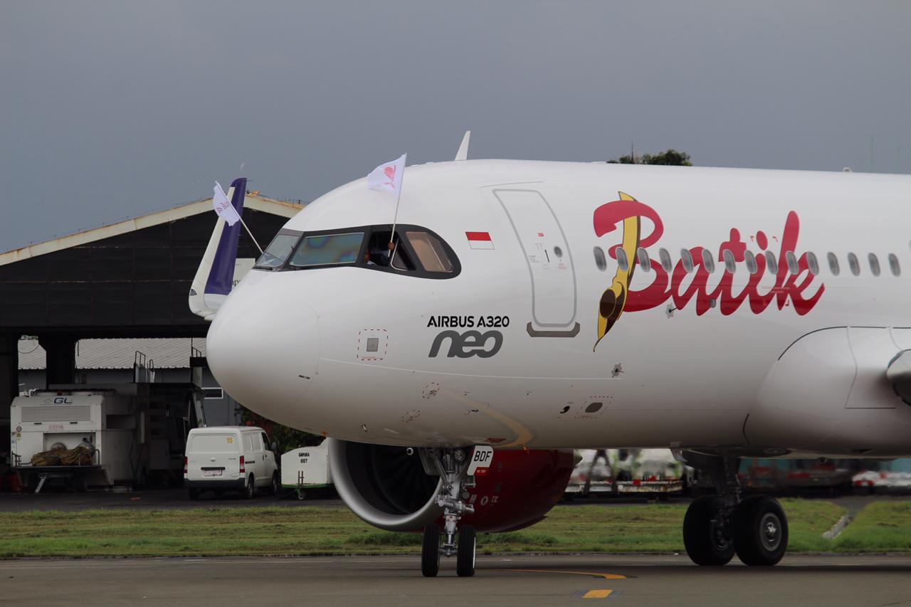 Penerbangan 18 Jam 30 menit A320neo Batik Air dari Toulouse ke Tangerang