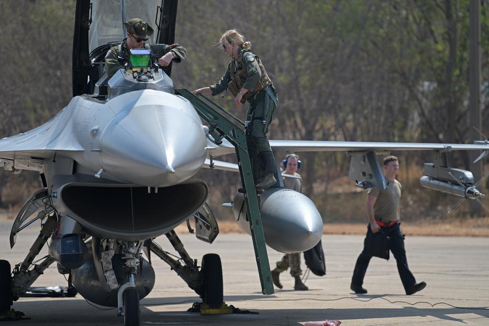 F-16 dalam latihan Cobra Gold 2020