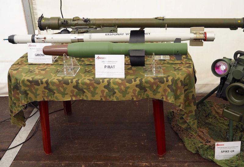 Ukraina dan Polandia kembangkan Pirat, rudal antitank berpemandu