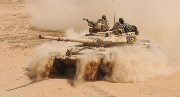 Rusia perpanjang lisensi produksi tank T-90S di India hingga 2028
