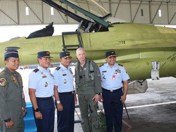 TNI AU sukses upgrade F-16