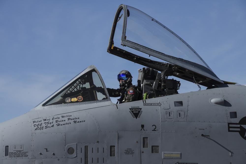 Foto Minggu Ini: A-10C Thunderbolt II Demo Team