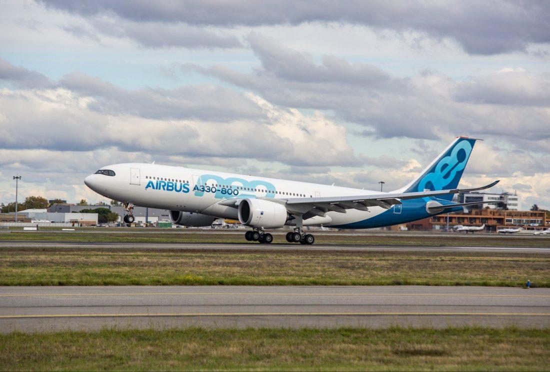 Pesawat uji A330-800 angkut 2 juta masker dari China ke Eropa