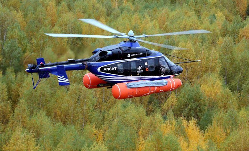 Helikopter Ansat raih sertifikasi penggunaan sistem apung