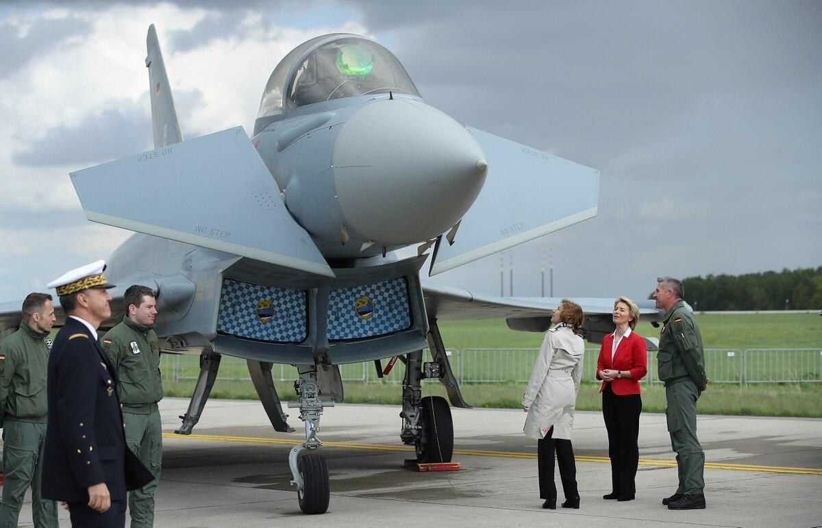 Bukan F-35, Jerman pilih Typhoon, Super Hornet, dan Growler