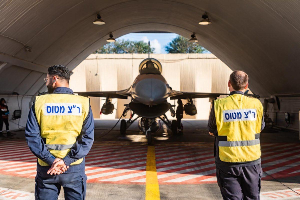 F-16 Israel yang kebanjiran telah diperbaiki