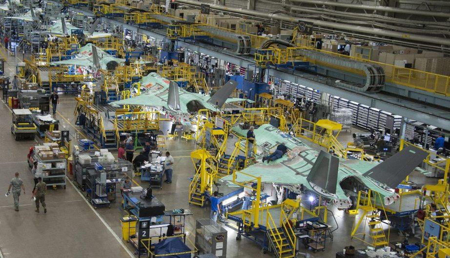 Produksi F-35 di Forth Worth