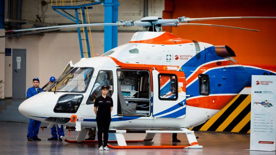 Helikopter Ansat dilengkapi perlatan inkubator untuk bayi