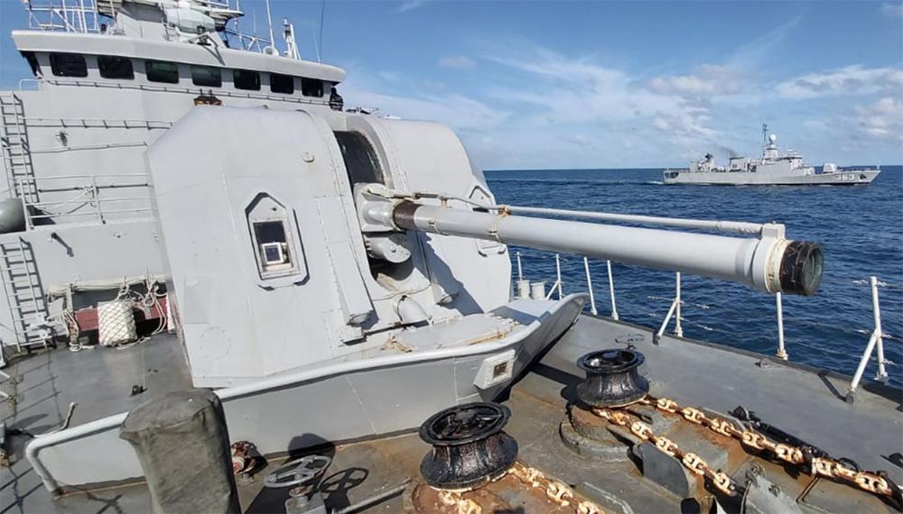 KRI Fatahillah dan KRI Nala gelar latihan di Laut Jawa
