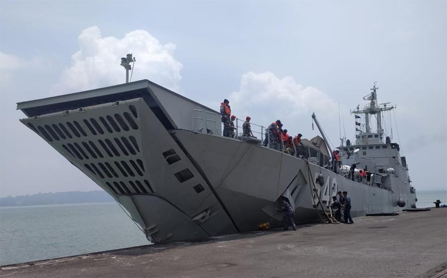 KRI Teluk Sangkurilang bergerak ke utara dukung pengamanan Ambalat