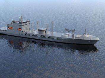 Kapal bantu FSV pesanan India
