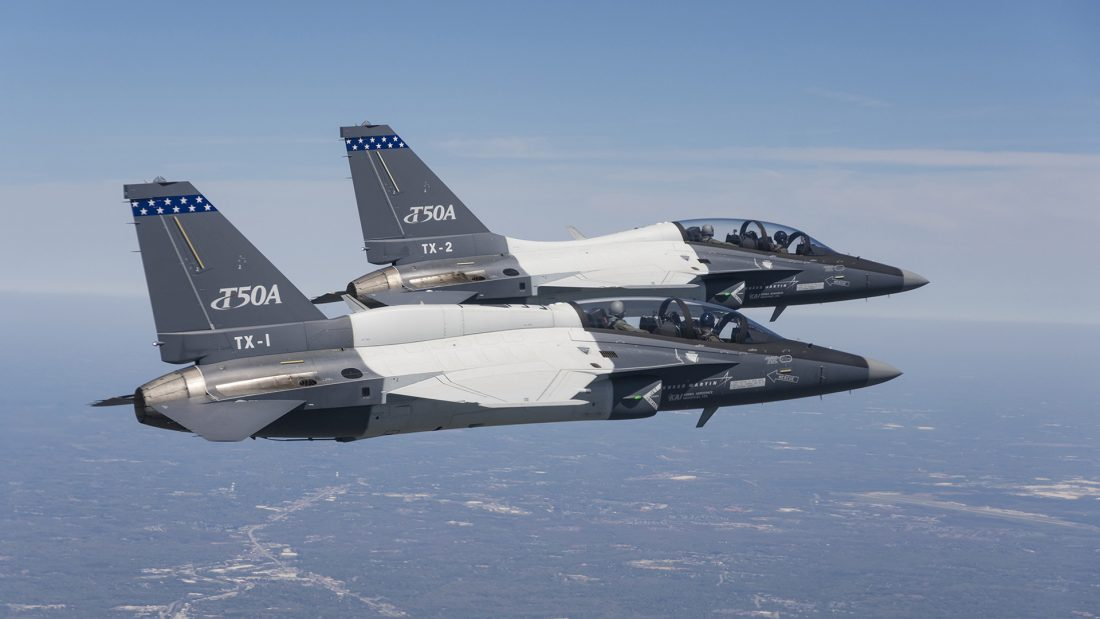 USAF akan sewa jet latih T-50A untuk tingkatkan kemampuan siswa
