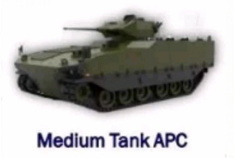 Medium Tank APC