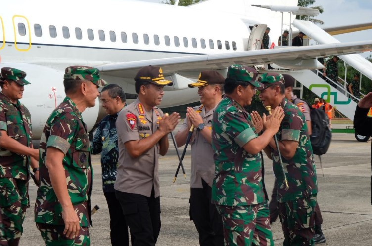 Panglima TNI kunjungi Riau