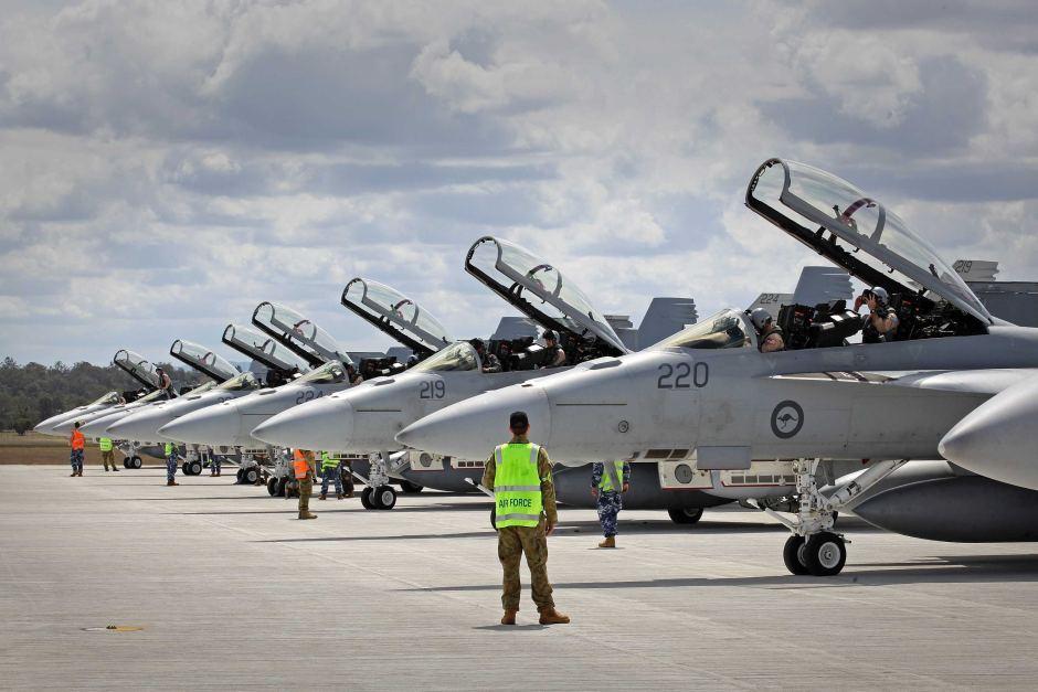 RAAF Super Hronets